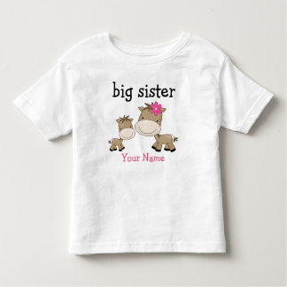 Big Sister Horse Toddler T-shirt