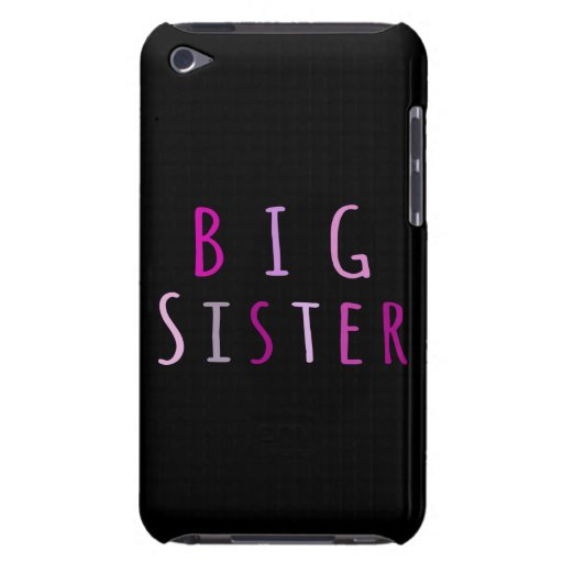 Big Sister in Pink iPod Touch Case-Mate Case