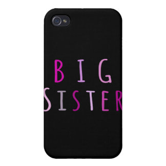 Big Sister in Pink iPhone 4/4S Case