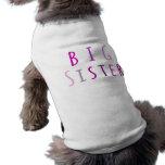 Big Sister in Pink Pet Shirt