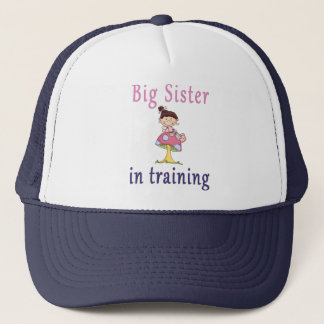 Big Sister In Training Fairy Trucker Hat