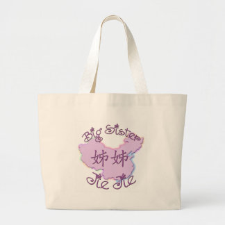 Big Sister Jie Jie (Chinese) Jumbo Tote Bag