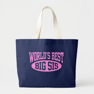 Big Sister Large Tote Bag