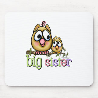 Big Sister - little Brother Mouse Pad