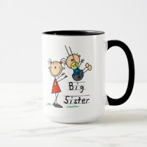 Big Sister Little Brother T-shirts and Gifts Mug