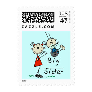 Big Sister Little Brother T-shirts and Gifts Postage