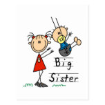 Big Sister Little Brother T-shirts and Gifts Postcards