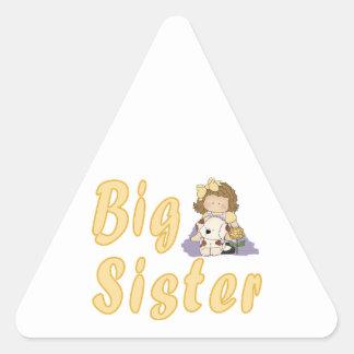 Big Sister Little Friends 2 Triangle Sticker