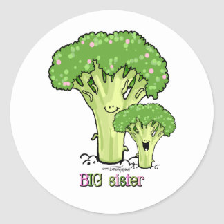 Big Sister - little sibling stickers
