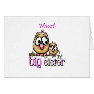 Big Sister little Sis Greeting Card