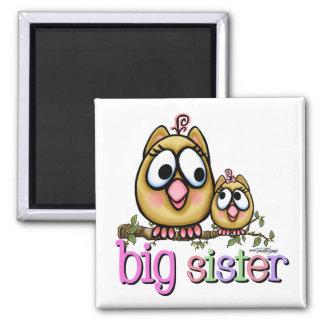 Big Sister little Sis Magnet