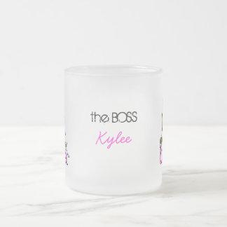 Big Sister little Sis 10 Oz Frosted Glass Coffee Mug
