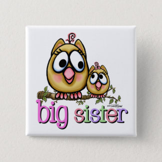 Big Sister little Sis Pinback Button