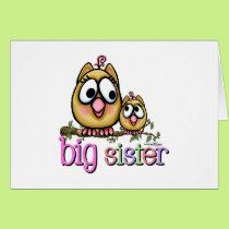 Big Sister Little Sister Owls Card