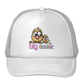 Big Sister Little Sister Owls Trucker Hat