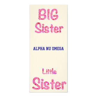 Big Sister Little Sister Sorority Invitation