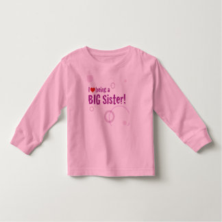 Big Sister Long Sleeve Toddler T-shirt