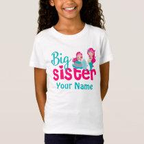 Big Sister Mermaid Personalized Shirt