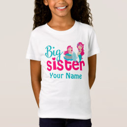 Big Sister Mermaid Personalized Shirt