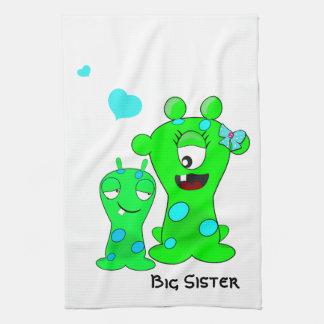 Big Sister Monster Hand Towel