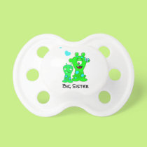 Big Sister Monster Pacifier