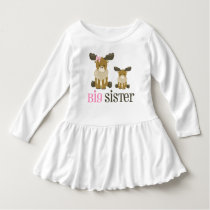 Big Sister Moose Dress
