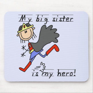 Big Sister My Hero T-shirts and Gifts Mouse Pad
