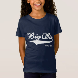 Big Sister Navy Blue TShirt (20 Colors Available)