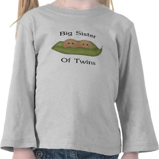 Big Sister Of Twins Shirt