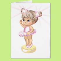 Big Sister or Birthday Girls Card
