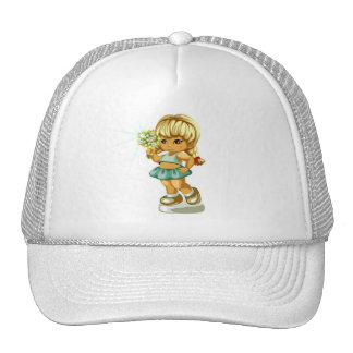 Big Sister or Birthday Girls Trucker Hat