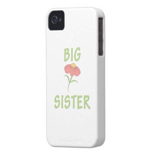 Big Sister Peach Flower iPhone 4 Case