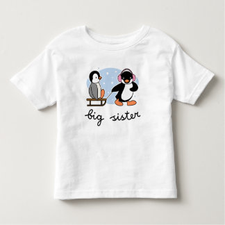 Big Sister Penguin Tee Shirts