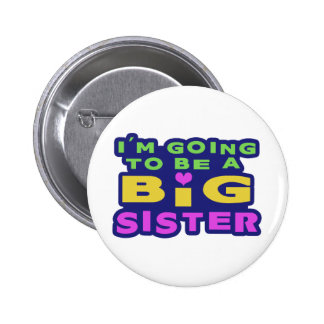 Big Sister Pinback Button