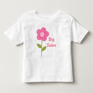 Big Sister Pink Flower Shirt