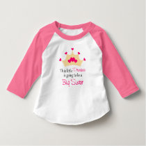 Big Sister Pink Princess T-shirt