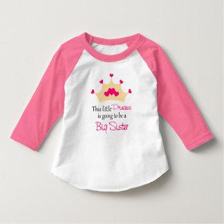 Big Sister Pink Princess T-shirt