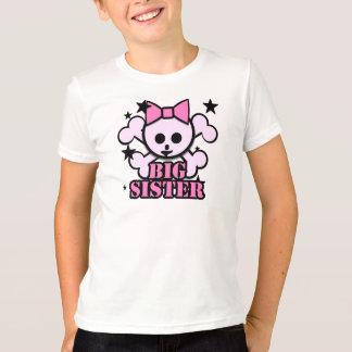 Big Sister Pink Skull T-Shirt