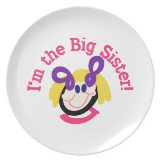 Big Sister Plate