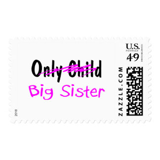 Big Sister Postage Stamp