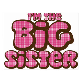 Big Sister Postcard
