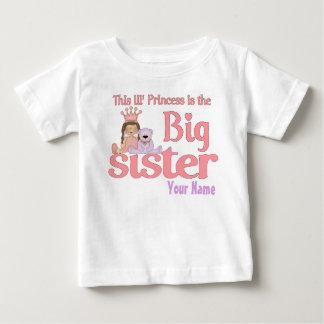 Big Sister Princess Personalized T-Shirt