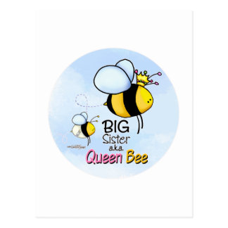 Big Sister - Queen Bee Postcard
