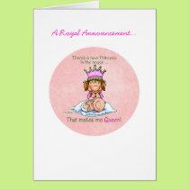 Big Sister - Queen of Princess Card