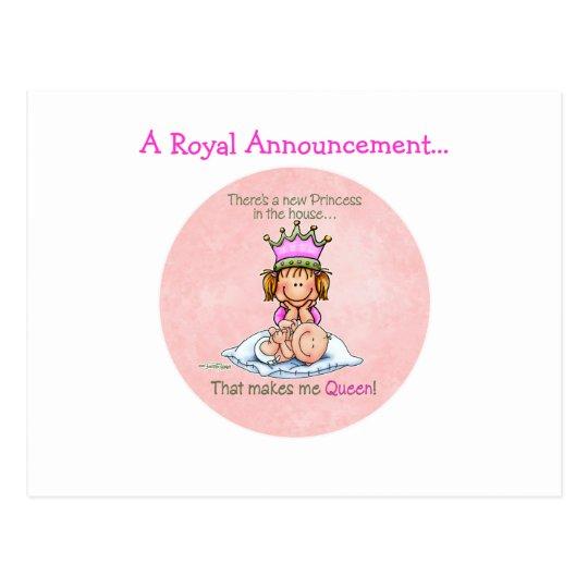 Big Sister - Queen of Princess Postcard