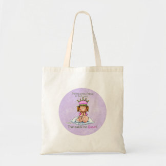 Big Sister Queen of Princess Products Tote Bag