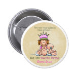 Big Sister - Queen of Twins Pinback Button