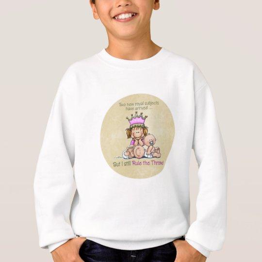 Big Sister - Queen of Twins Sweatshirt