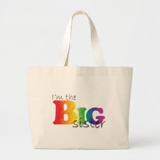 Big Sister - rainbow Canvas Bag
