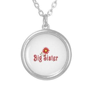 Big Sister Red Flower Custom Jewelry